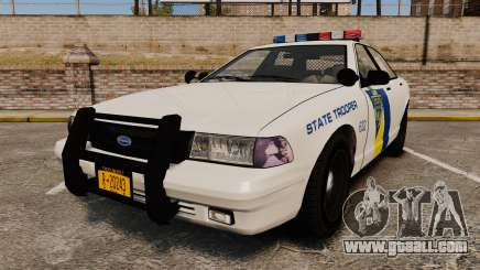 GTA V Vapid State Police Cruiser [ELS] for GTA 4