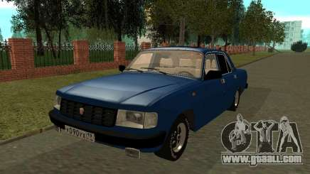 GAZ 31029 Volga Blue tinted for GTA San Andreas