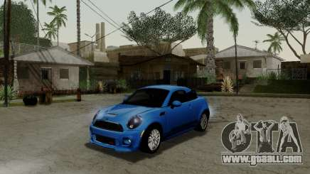 MINI Cooper S 2012 for GTA San Andreas