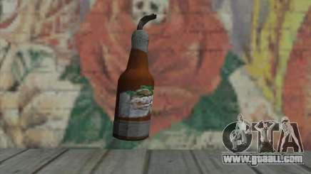 Molotov cocktail of GTA V for GTA San Andreas