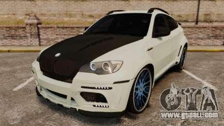 BMW X6 M HAMANN 2012 for GTA 4