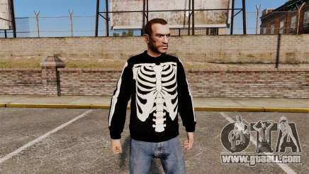 Black sweater-skeleton for GTA 4