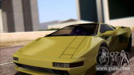 Cizeta Moroder V16T 1988 for GTA San Andreas