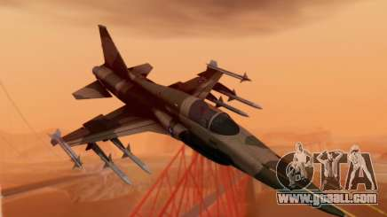 F-5 Tiger II for GTA San Andreas