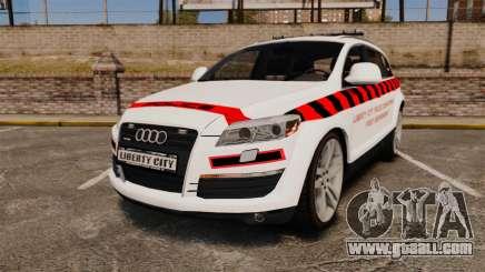 Audi Q7 Enforcer [ELS] for GTA 4
