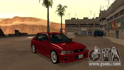 Subaru Impreza Wagon for GTA San Andreas