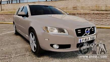 Volvo V70 Unmarked Police [ELS] for GTA 4