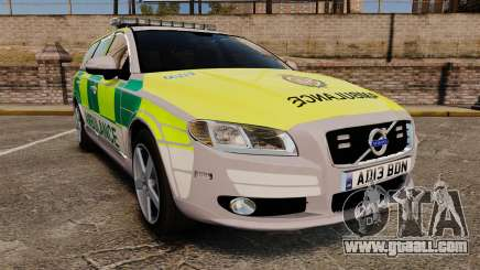 Volvo V70 Ambulance [ELS] for GTA 4