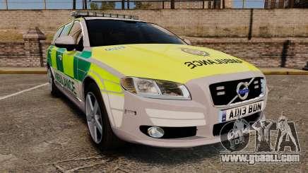Volvo V70 Ambulance [ELS] for GTA 4