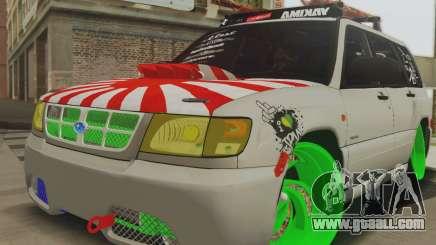Subaru Forester JDM for GTA San Andreas