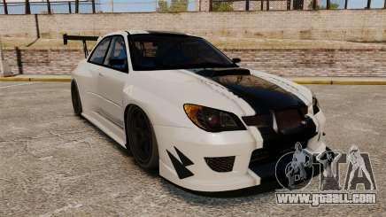 Subaru Impreza v2.0 for GTA 4