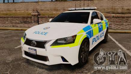 Lexus GS350 West Midlands Police [ELS] for GTA 4