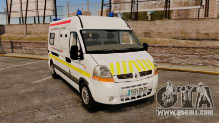 Renault Master French Red Cross [ELS] for GTA 4