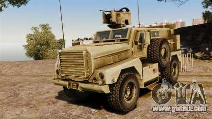 Cougar MRAP 4X4 for GTA 4