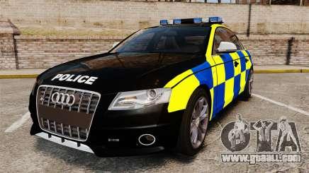 Audi S4 Police [ELS] for GTA 4