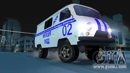 UAZ-3741 GIBDD for GTA Vice City