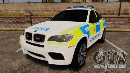 BMW X6 Lancashire Police [ELS] for GTA 4