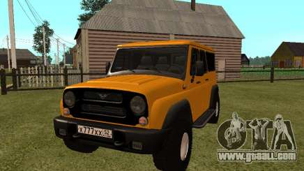 UAZ-3159 Bars for GTA San Andreas