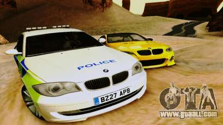 BMW 120i SE Police for GTA San Andreas