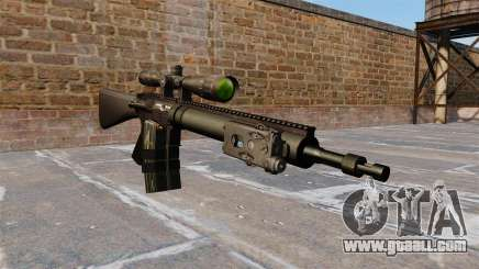 Sniper rifle Mk 12 for GTA 4