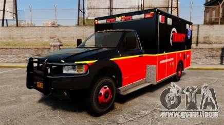 Landstalker L-350 Trinity EMS Ambulance [ELS] for GTA 4