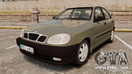 Daewoo Lanos S PL 2001 for GTA 4