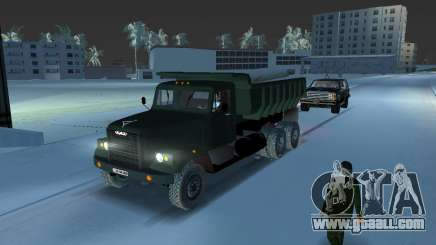 KrAZ 255 dump truck for GTA Vice City