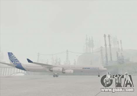 Airbus A340-600 for GTA San Andreas right view