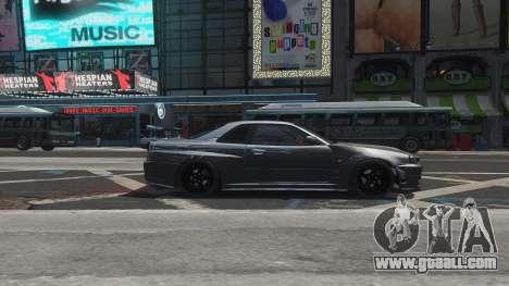 Nissan Skyline GTR-34 Nismo Z-Tune for GTA 4 engine