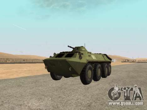 BTR-70 for GTA San Andreas right view