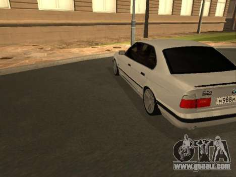 BMW 525 Smotra for GTA San Andreas right view