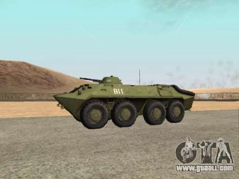 BTR-70 for GTA San Andreas back left view