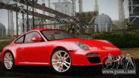 Porsche 911 Carrera for GTA San Andreas inner view