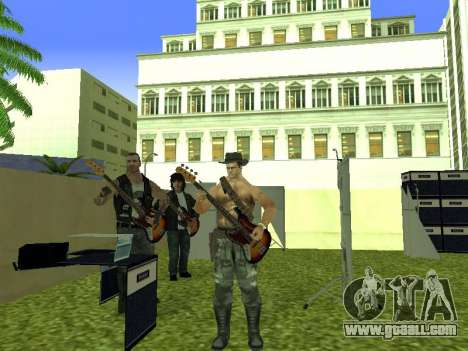 The concert Film for GTA San Andreas ninth screenshot