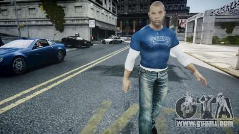Vin Diesel Wheelman for GTA 4