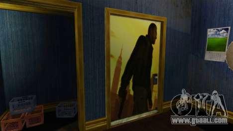 Renovated apartment of South Bohan for GTA 4 second screenshot