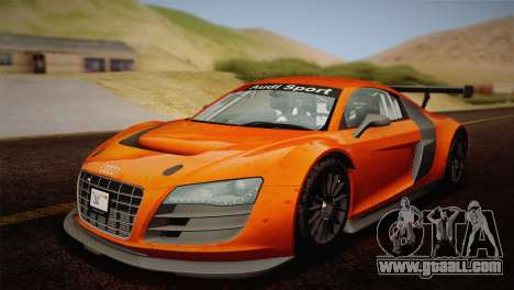 Audi R8 LMS v2.0.4 DR for GTA San Andreas engine