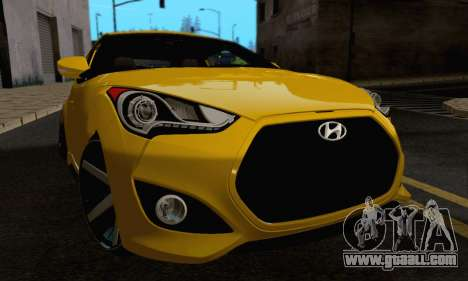 Hyundai Veloster for GTA San Andreas side view