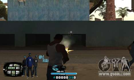 C-HUD Rifa for GTA San Andreas