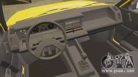 Renault 21 Nevada GTD for GTA 4 inner view
