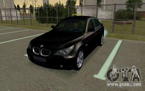 BMW 530xd for GTA San Andreas