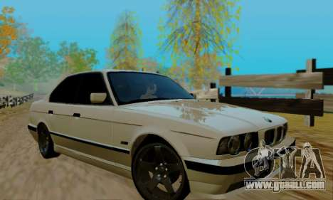 BMW 525 Re-Styling for GTA San Andreas side view