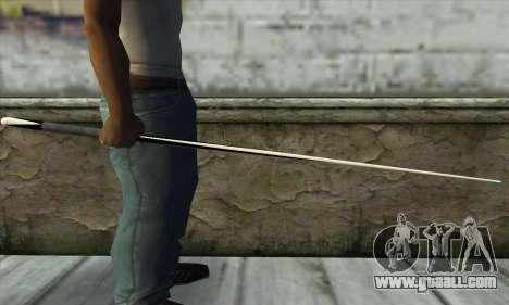 Pool cue for GTA San Andreas second screenshot