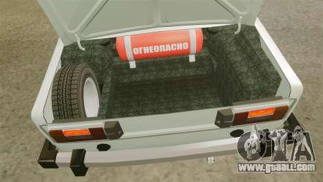 VAZ-2106 Lada for GTA 4 back view