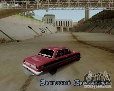 Ford Falcon Sprint 1972 for GTA San Andreas back view