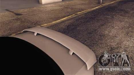 Volkswagen Bora GLI for GTA San Andreas back view