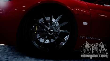 Spyker C8 Aileron Spyder v2.0 for GTA 4 inner view