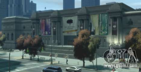 Bank And Museum Robbery for GTA 4 second screenshot