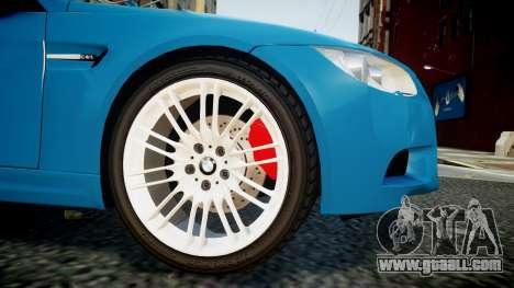 BMW M3 E92 for GTA 4 right view