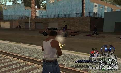 HUD by Anatole for GTA San Andreas third screenshot